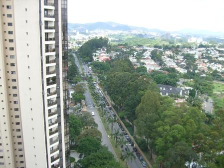 Vista da Cobertura para Alameda Mamoré, Pista de Cooper e Residencial Um, em Alphaville - Barueri - SP - Foto: Jr. Holanda