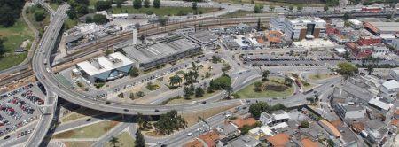 Vista Aérea Centro de Barueri - SP.