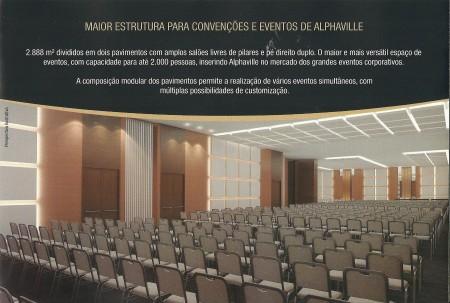 Maior Estrutura para Convenções e Eventos de Alphaville.