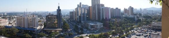 Vista Panorâmica do bairro de Alphaville localizado na Cidade de Barueri - SP. Foto com direitos autorais de Junior Holanda em 03.08.2013