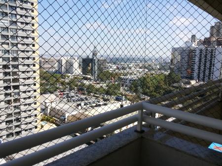 Vista da Sacada do Apartamento Edifício Santiago em Alphaville Barueri SP. Foto de Júnior Holanda 28.08.2013