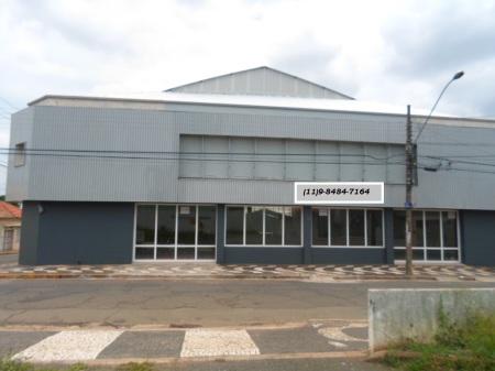 Galpão Centro de Araras - SP para Locação.