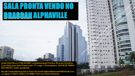 Brascan Sala 916 Venda Alphaville imoveis facebook