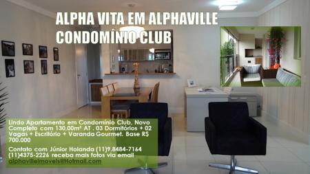 Alpha Vita Condomínio Club em Alphaville. Montagem Gráfica Júnior Holanda Junho 2014