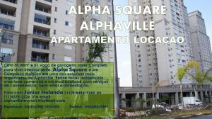 O Alpha Square é um complexo multiúso que reúne torres residenciais, uma torre comercial e um mall boutique com serviços de conveniência, bem-estar e alimentação.  Morar e trabalhar em um complexo com Mall integrado é ter muitas facilidades e conforto sempre à disposição.