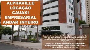 ALPHAVILLE LOCAÇÃO CAUAXI EMPRESARIAL ANDAR INTEIRO