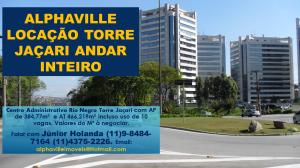 Laje Corporativa em Alphaville Locação. Montagem Gráfica e Foto de Júnior Holanda.