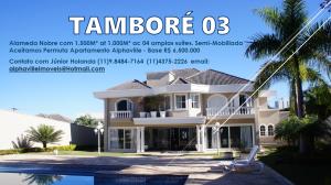 Aceitamos Permuta neste imóvel no Tamboré 03 em Galpões na Região de Alphaville.
