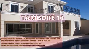 Aceitamos nesta linda Casa no Tamboré 10 PERMUTA por galpões na Região de Alphaville.