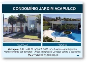 Condomínio Jardim Acapulco no Guarujá.