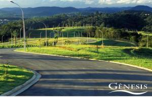 Terreno de Esquina em Alameda Nobre localizado no Residencial Genesis 1 com 474,00m² totalmente plano.