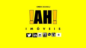 AH imoveis layout facebook Amarelo
